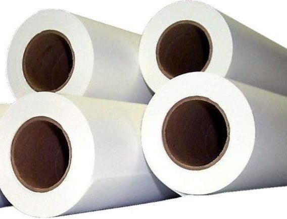 хартия ролна, хартия за плотер