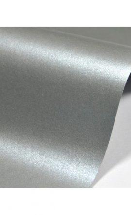 Картон металик А4 тъмно сребро 250г