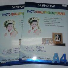 фотохартия, гланцова фотохартия, фотохартия 170г