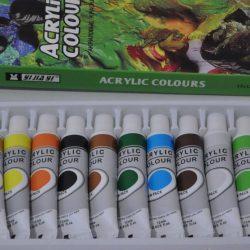 акрилна боя, боя, боя за рисуване
