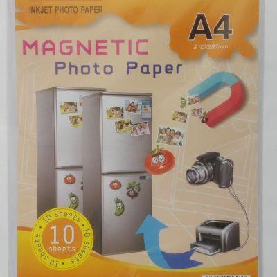 фотохартия, магнитна фотохартия, хартия А4