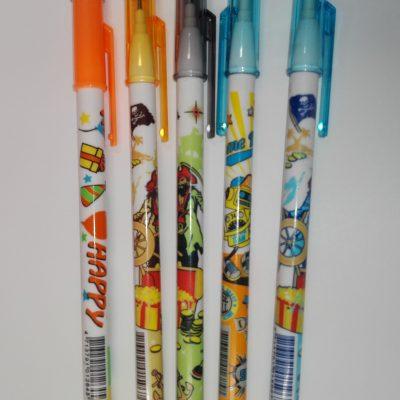 молив, молив секторен, молив секторен с графити